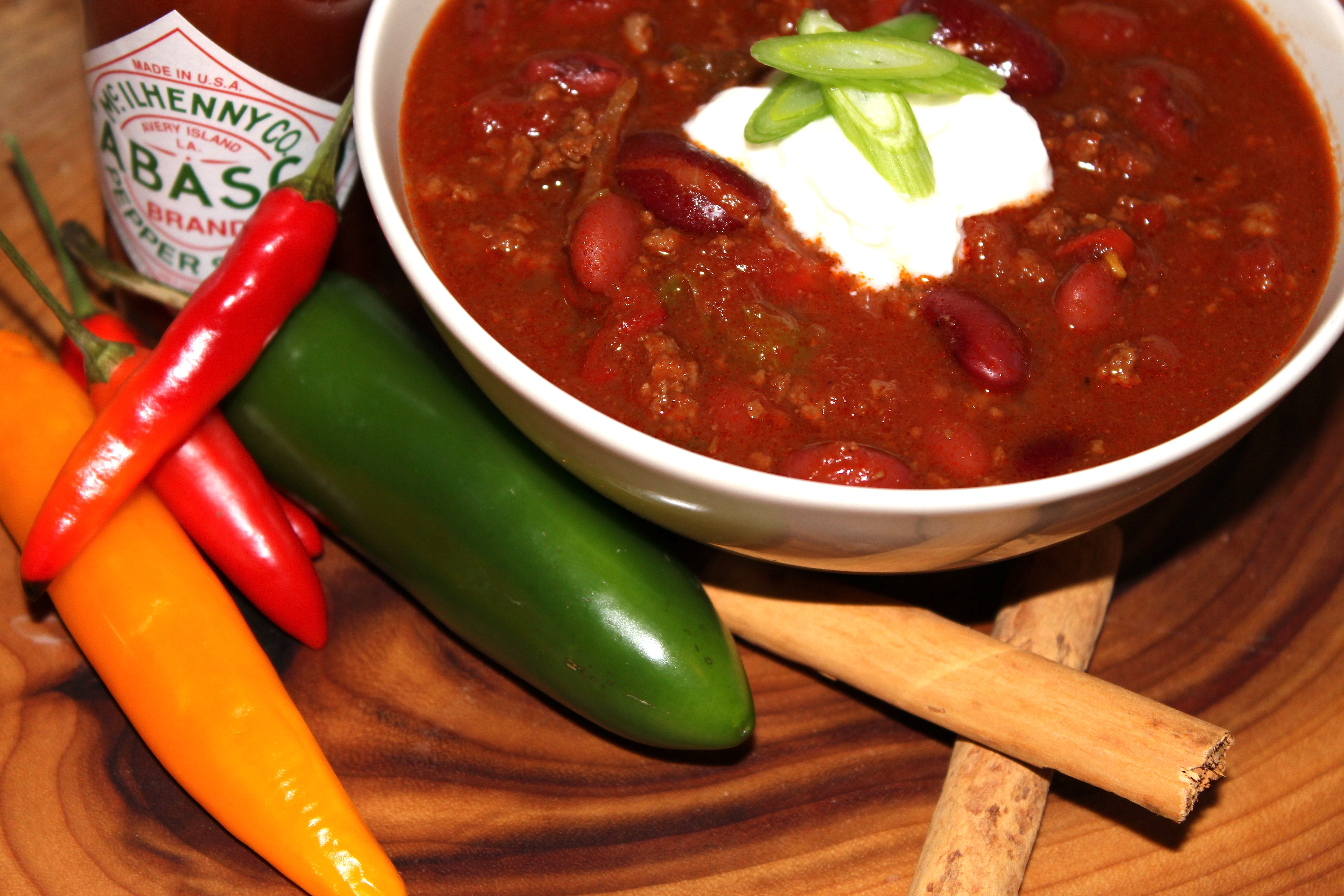 Winter warmers comfort food for a cold night soups for Adding chocolate to chilli con carne