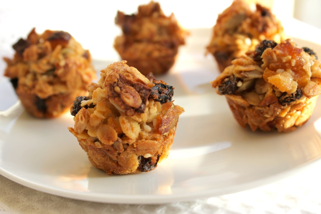 Healthy muesli bars for kids school lunches or snacks oats pepitas easy