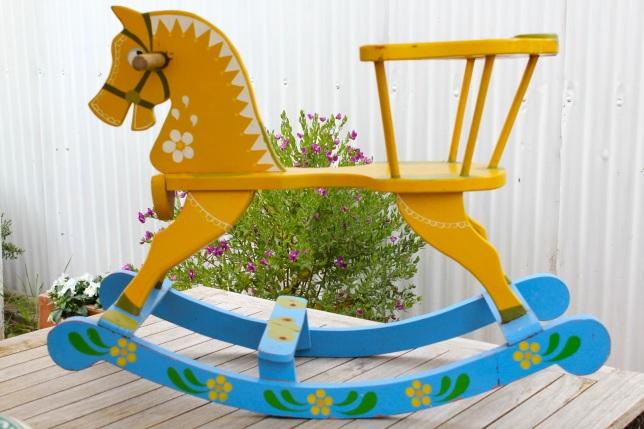 vintage rocking horse plans