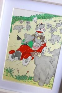 Babar elephant image