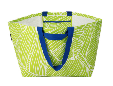 Project Ten bag green blue pattern gift christmas